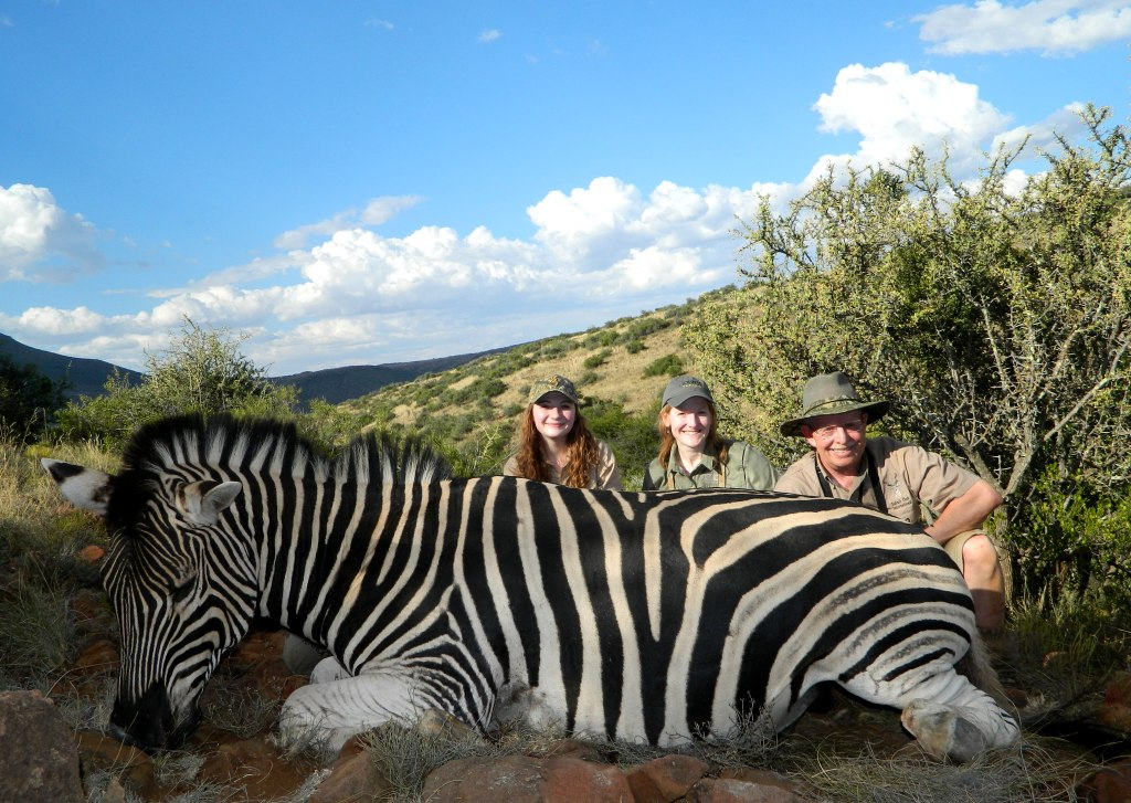 For our sweet 16th birthday girl, try bettering THIS birthday - hunting your first Zebra in Africa!