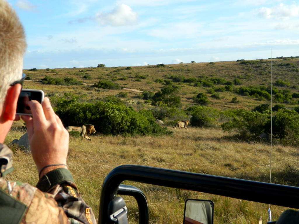 For Robert it was the idea of his first safari - his first hunt - how could it get any better once he'd started it in Africa!