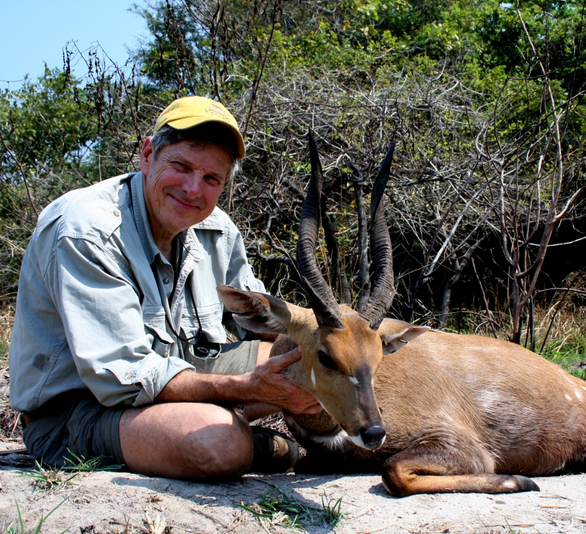 The entire crew was extremely excited by my Chobe Bushbuck, I'm glad I made it count when we most needed it.