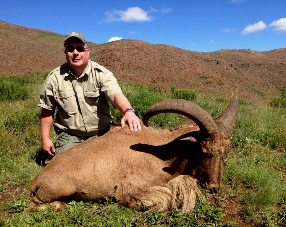 I also hunted Barbary Sheep and that experience high up in the mountains was truly unique and something I definitely plan to do again.