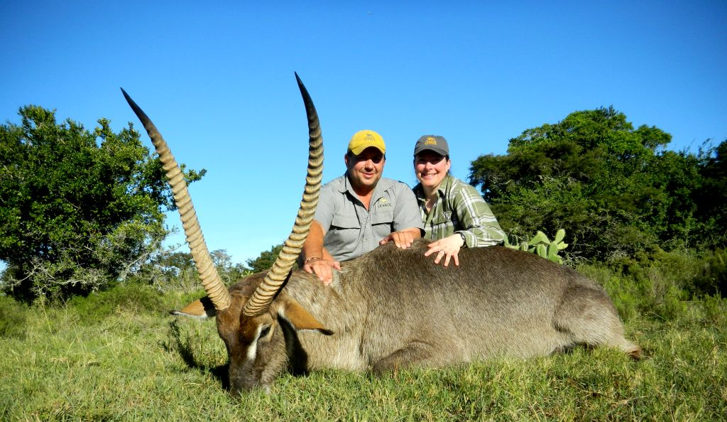 For my Waterbuck of a lifetime I'd like give credit to Greg. Without him and his knowledge and work, this awesome trophy would not have been mine.