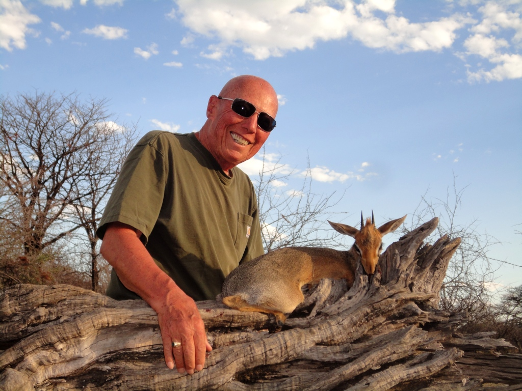 """Within three days Ron had his Dik-Dik - A magnificent ram of over 3"""", easily qualifying as a gold medal, and a fantastic addition to his Tiny 10 collection."""