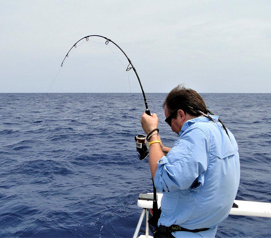 Fishing large